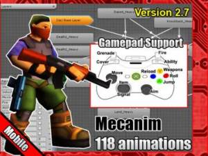 Cartoon Soldier Animation Pack