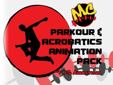 Parkour & Acrobatics Animation Pack