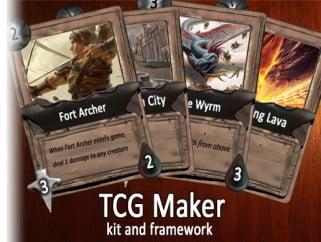 TCG Maker kit and framework