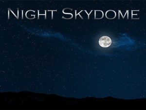 Moons and Night Skydome