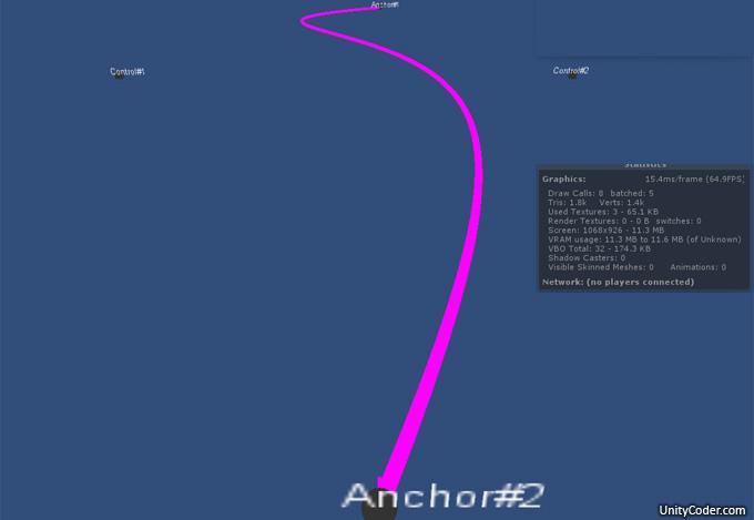 Function: CubicBezier (2D) | Unity Coding - Unity3D