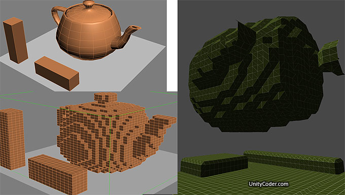 Mesh to Voxels « Unity Coding – Unity3D