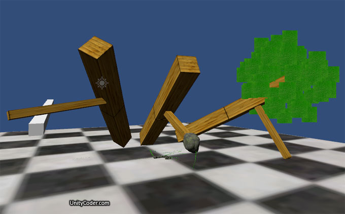 Falling Trees (test 2 0) « Unity Coding – Unity3D