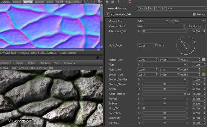 Substance Resources For Unity « Unity Coding – Unity3D