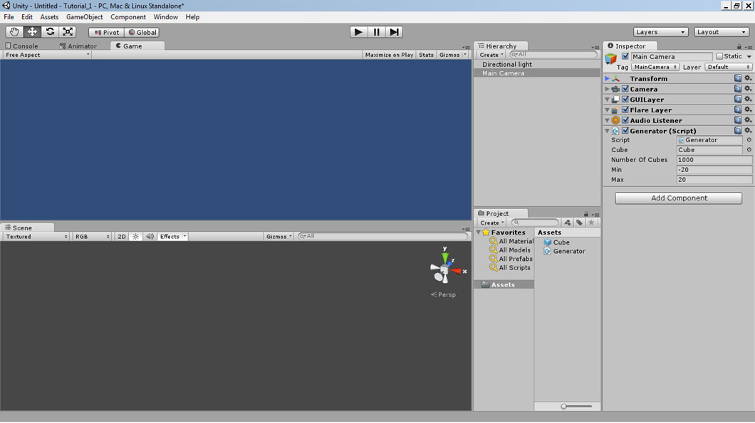Beginner] Instantiate objects at random positions « Unity Coding