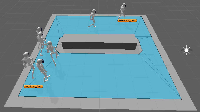 Mecanim + Nav Mesh Pathfinding | Unity Coding - Unity3D