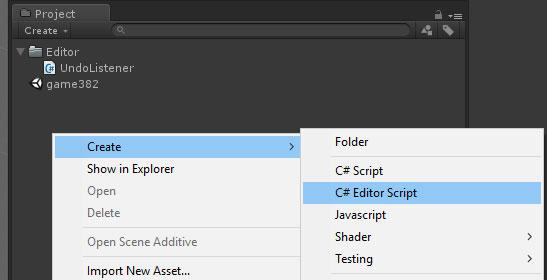Adding Custom Script Templates   Unity Coding - Unity3D