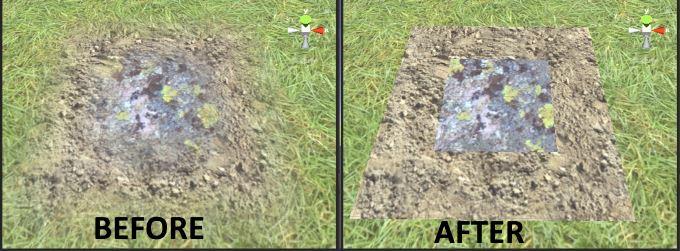 Terrain AlphaMap Texture FilterMode (sharp texture blending