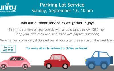 Sept 13 Parking Lot Service