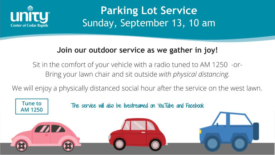 Sept 13 Parking Lot Service