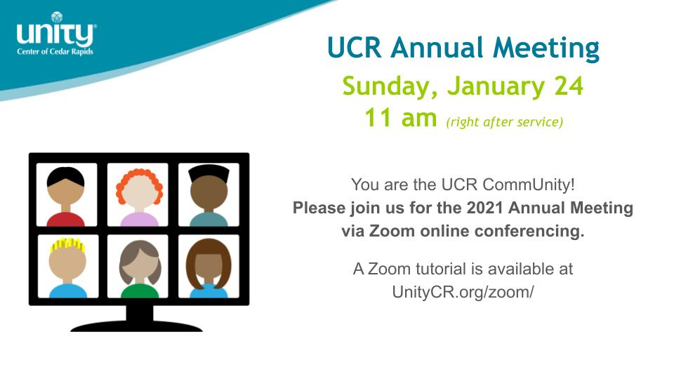UCR Annual Meeting