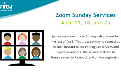 Zoom Sunday Services