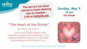 Sunday May 9