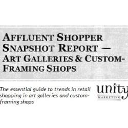 Affluent Shopper Snapshot Art Galleries