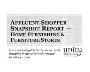 Affluent Shopper Snapshot Home Furnishing