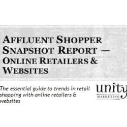 Affluent Shopper Snapshot Online