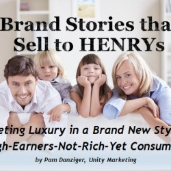 Brand Stories for HENRYs