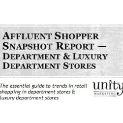 Shopper Snapshot -- Department Stores & Luxury Department Stores