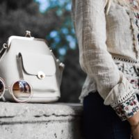 Luxury fashion shopper