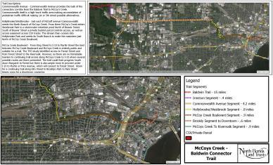 McCoys Creek Trail Map