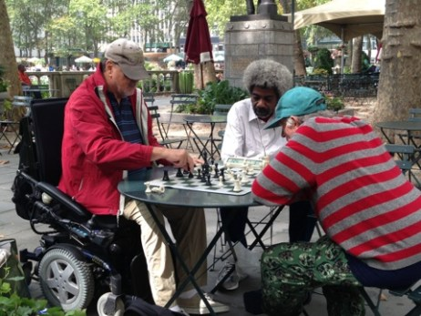 Chess among strangers, made friends through fellowship and sharing common passions