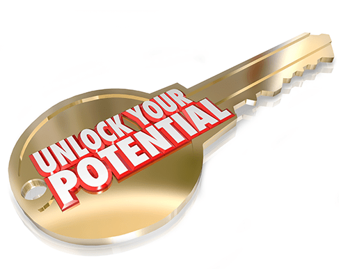 Unlock your potential (key)