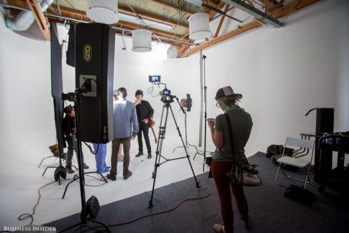Maker Studio shoot
