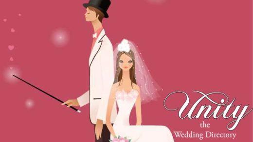 Wedding-Vector-Graphic-bride-groom-pinkBG