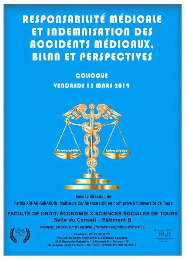 Responsabilité médicale et indemnisation des accidents médicaux