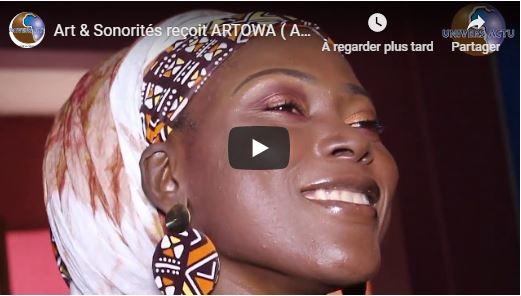 Art & Sonorités reçoit ARTOWA ( Artiste peintre -créatrice de mode -écrivaine)