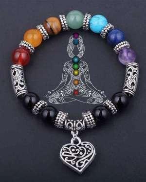 Bracelet 7 Chakras Mala Guérison et Amour - L'univers-karma