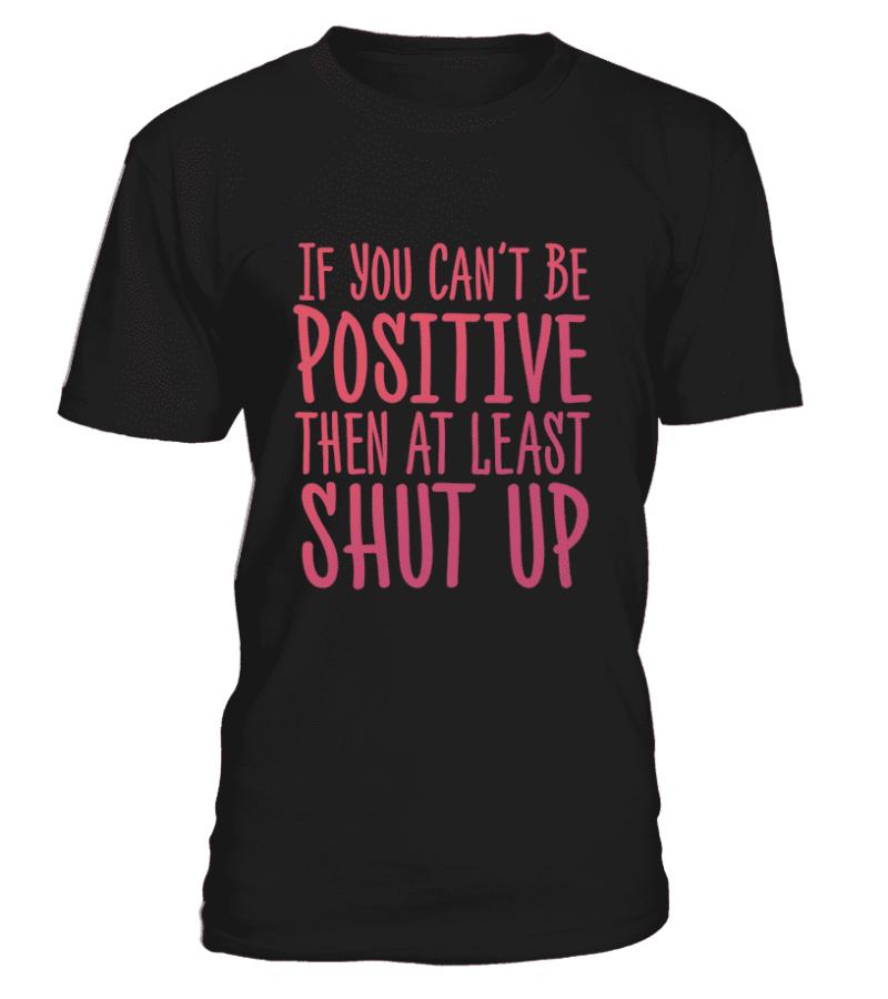 """T Shirt """"Positive"""" Pour homme - L'univers-karma"""