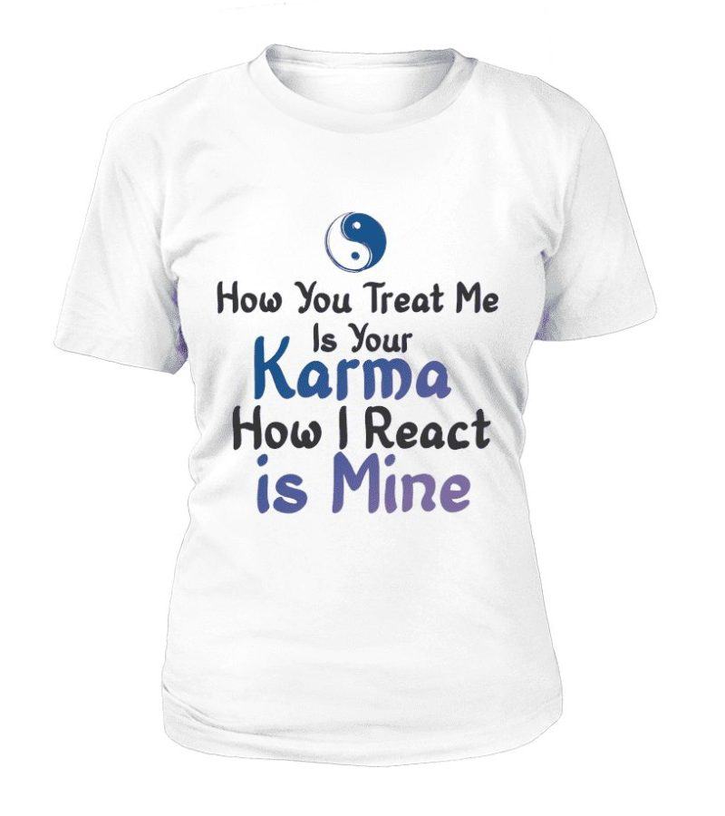 "T Shirt ""Karma"" Pour femme - L'univers-karma"