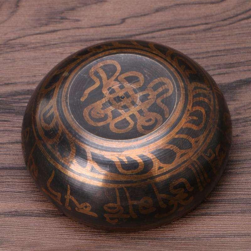 Bol Chantant Tibétain de Méditation Fait Main - L'univers-karma