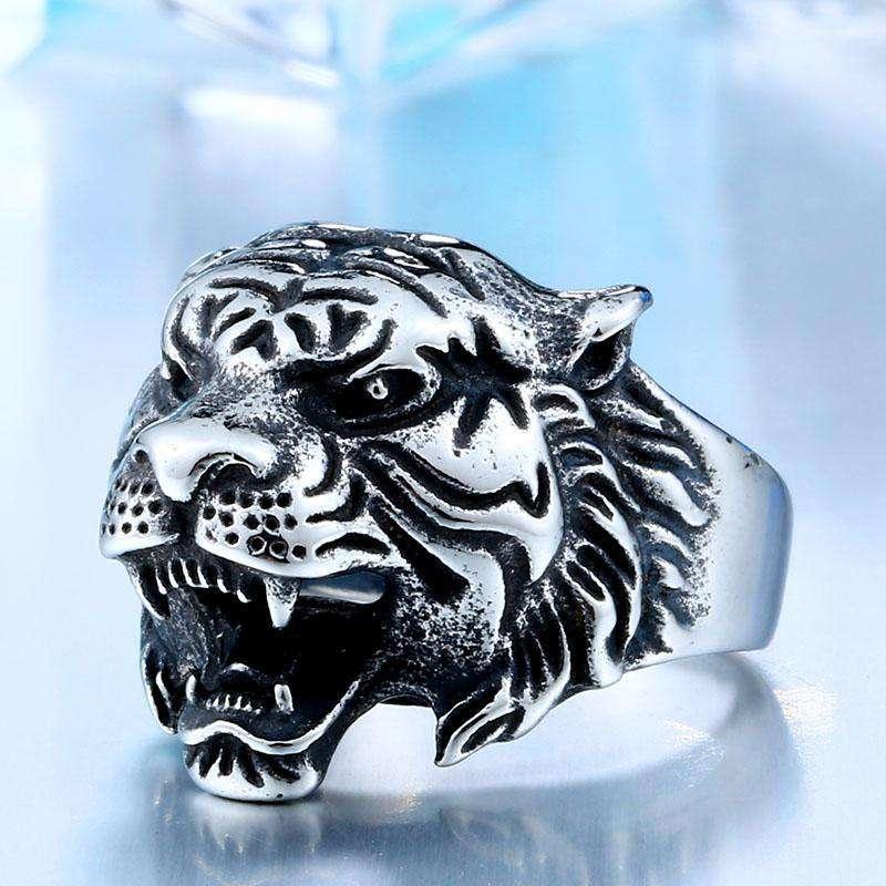 Bague de Puissance de Tigre - L'univers-karma