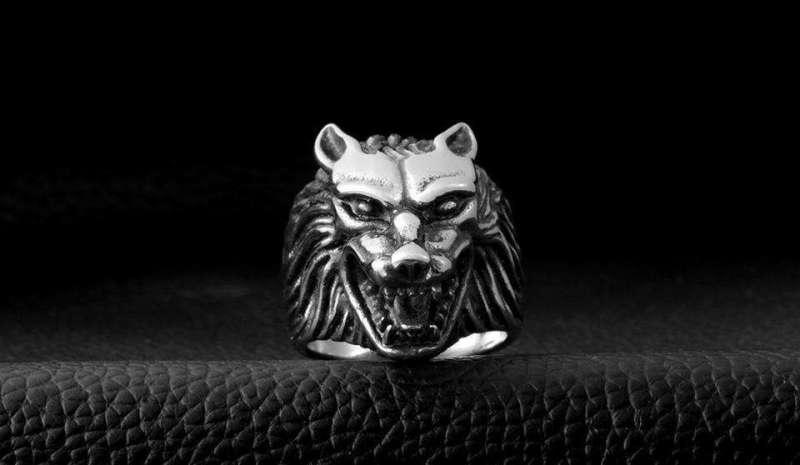 Bague de Protection De Loup - L'univers-karma