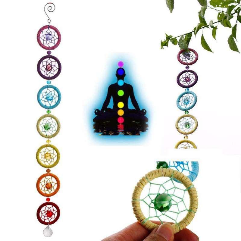 Attrape Rêves des 7 Chakras - L'univers-karma