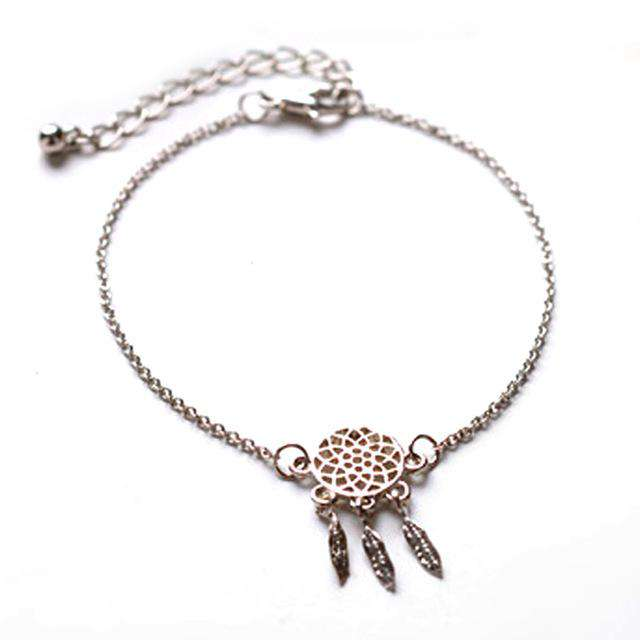Bracelet Attrape rêve - Or ou Argent 925 - L'univers-karma