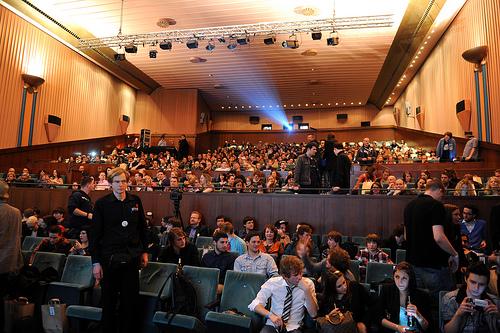 Neuerdings ein Großevent: Die Verleihung des Videopreises lockte über 1000 Gäste nach Düsseldorf. (Foto: EWVA)