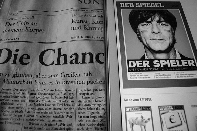 """Umkämpft: Neben den Wochenend- und Sonntagsausgaben der Tageszeitungen wollen demnächst auch """"Spiegel"""" und """"Focus"""" am Wochenende erscheinen. (Foto: Jakubetz)"""