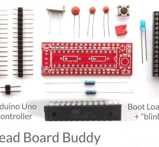 CANADUINO Bread Board Buddy, smallest Arduino Uno R3 and Arduino Nano V3 compatible development board - smarter electronics by Universal Solder