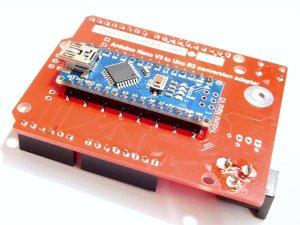 CANADUINO Arduino Nano-Uno Adapter NANUNO - smarter electronics by universal solder