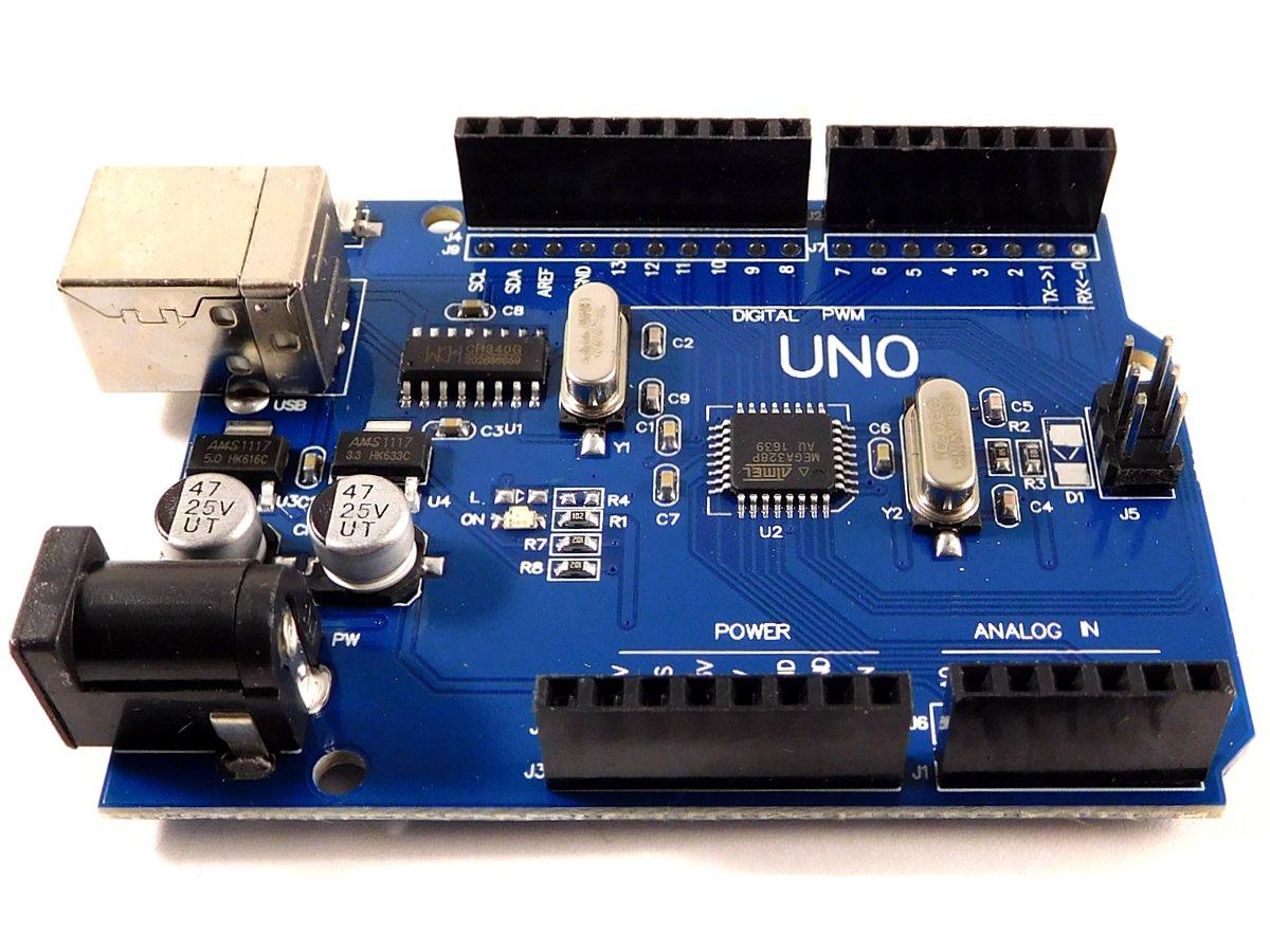 Arduino Uno R3 compatible micro controller development board - smarter electronics by Universal Solder