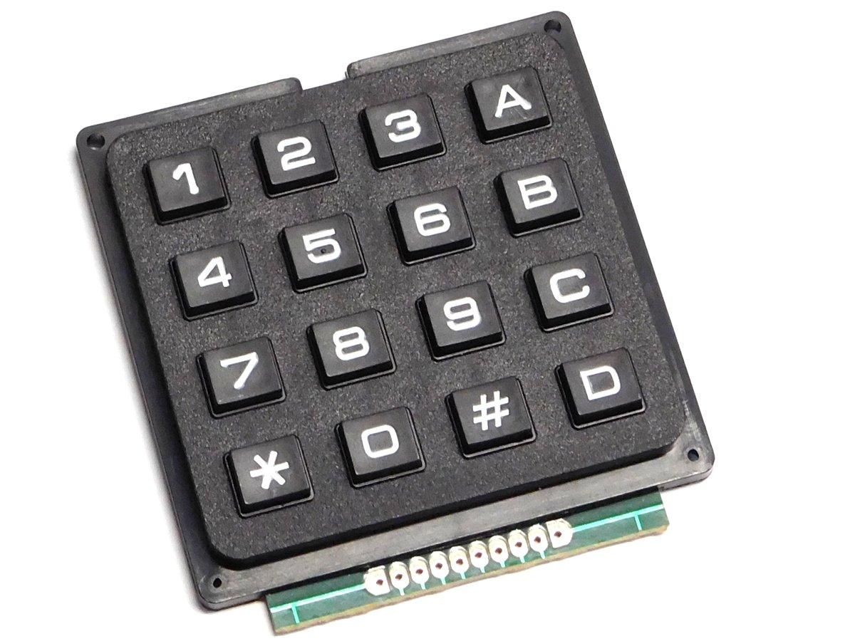 4 x 4 Matrix Keypad - smarter electronics made by universal solder