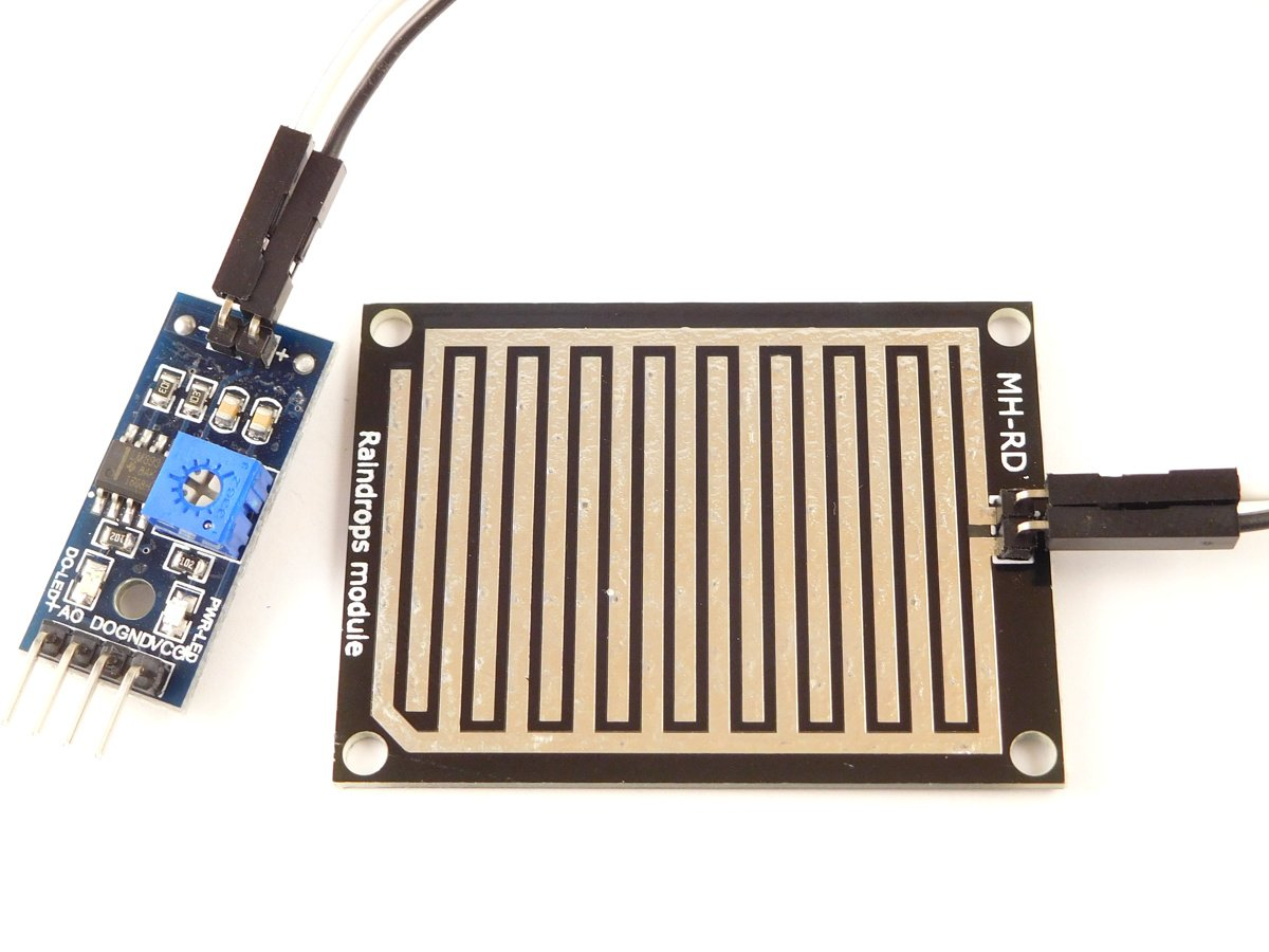 Rain Drop Sensor analog digital Arduino compatible