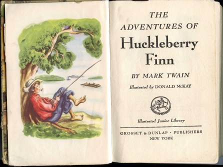 The Adventures of Huckleberry Finn - Plot & Image of the book