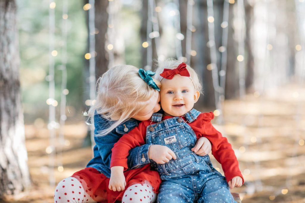 Brother and sister in Christmas. - An inspirational story about Christmas