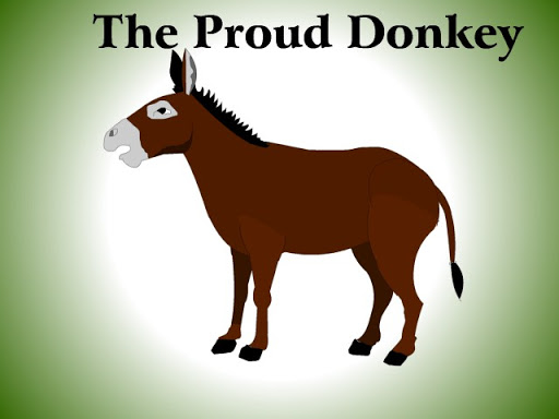 the proud donkey - inspirational short stories with moral