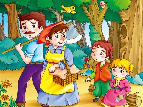hansel and gretel- Short stories for kids.