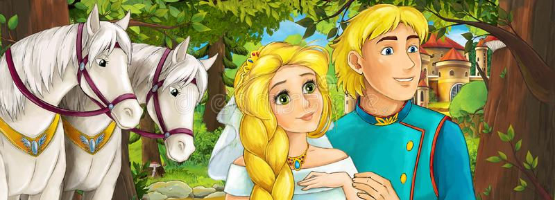 Prince and princess holding hands - Faithful Jose - Inspirational Short Stories of Faith